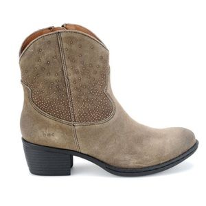 b.o.c. Women's Boots Ambrosia Suede Leather Taupe